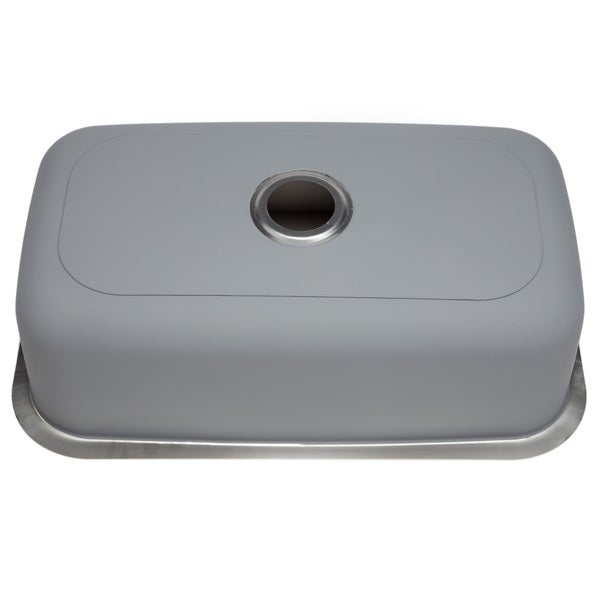 hahn chef series stainless steel extralarge singlebowl kitchen sink free shipping today