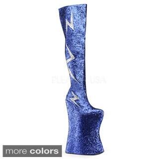 Pleaser Men's 'Vivacious-3016' 13-inch Platform Thigh-high Boots