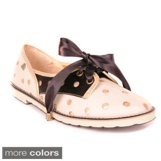 Makers Girls 'Culeka' Dotted Oxford Shoes|https://ak1.ostkcdn.com/images/products/8769823/Makers-Girls-Culeka-Dotted-Oxford-Shoes-P16010890.jpg?impolicy=medium