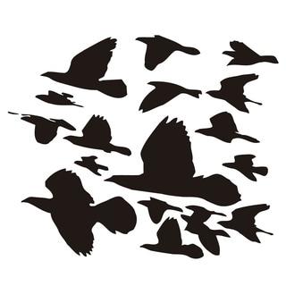 Fauna of Birds Flying Vinyl Wall Sticker Decal