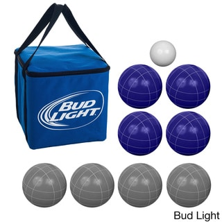 Link to Anheuser-Busch Beverage-themed Regulation-size Bocce Ball Set Similar Items in Camping & Hiking Gear