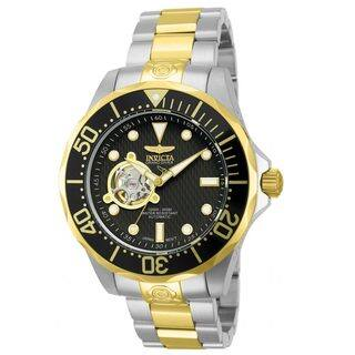 Invicta Men's 'Pro Diver Automatic 13705' Black Dial Watch|https://ak1.ostkcdn.com/images/products/8769971/Invicta-Mens-Pro-Diver-Automatic-13705-Black-Dial-Watch-P16010997.jpg?impolicy=medium