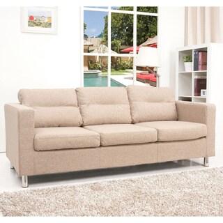 Detroit Camel Fabric Sofa