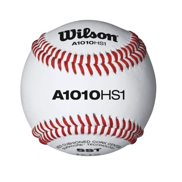 A1010 HS1 Leather Baseball Dz (Pack of 12)