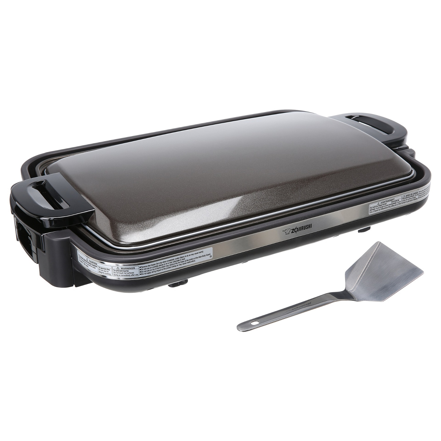 Zojirushi Gourmet Sizzler Electric Griddle, Brown (Aluminum)