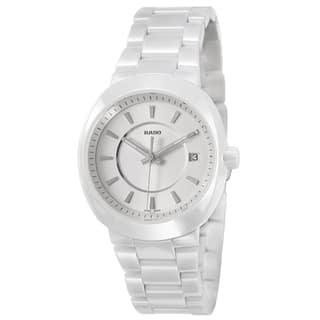 Rado Women's 'D Star' Ceramic Swiss Quartz Watch https://ak1.ostkcdn.com/images/products/8771070/P16011902.jpg?impolicy=medium