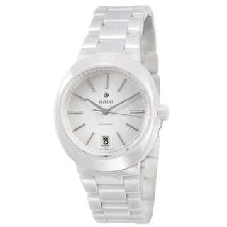 Rado Women's 'D Star' Ceramic Swiss Mechanical Automatic Watch