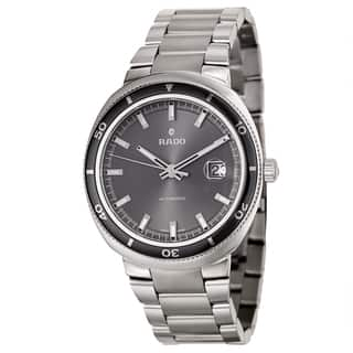 Rado Men's 'D Star' Stainless Steel Swiss Mechanical Automatic Watch https://ak1.ostkcdn.com/images/products/8771075/P16011907.jpg?impolicy=medium