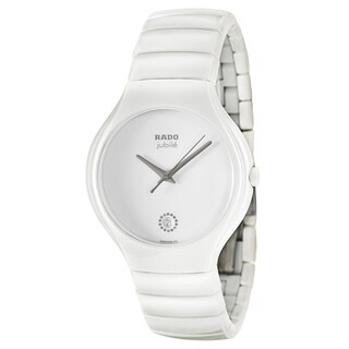 Rado Women's 'True Jubile' White Ceramic Swiss Quartz Watch