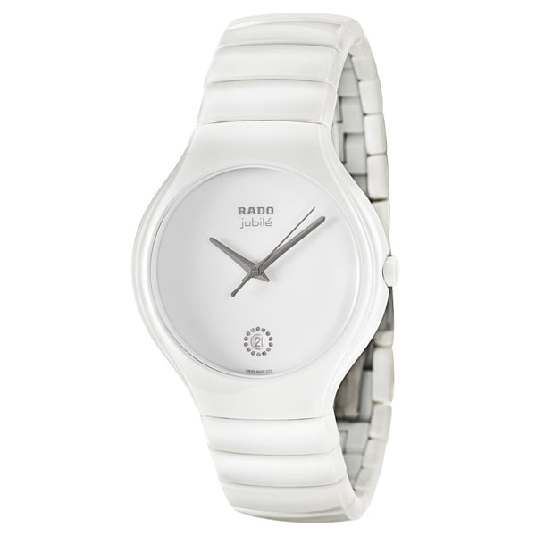 Rado Women's 'True Jubile' White Ceramic Swiss Quartz Watch