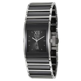 Rado Men's 'Integral' Stainless Steel Swiss Quartz Watch