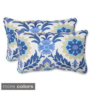Pillow Perfect Santa Maria Rectangular Outdoor Throw Pillows (Set of 2)