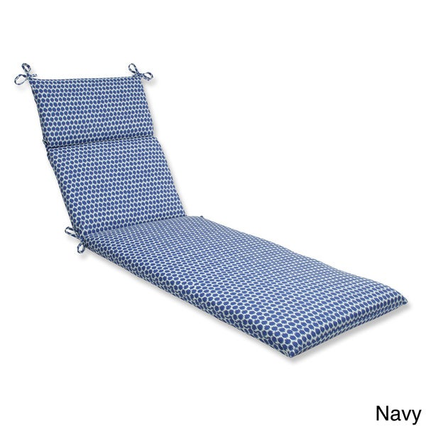 Pillow Perfect Seeing Spots Chaise Lounge Outdoor Cushion