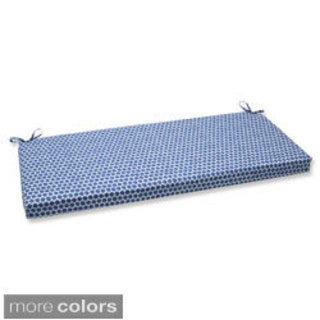 Pillow Perfect Seeing Spots Bench Outdoor Cushion