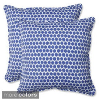 Pillow Perfect Seeing Spots 18.5-inch Outdoor Throw Pillows (Set of 2)