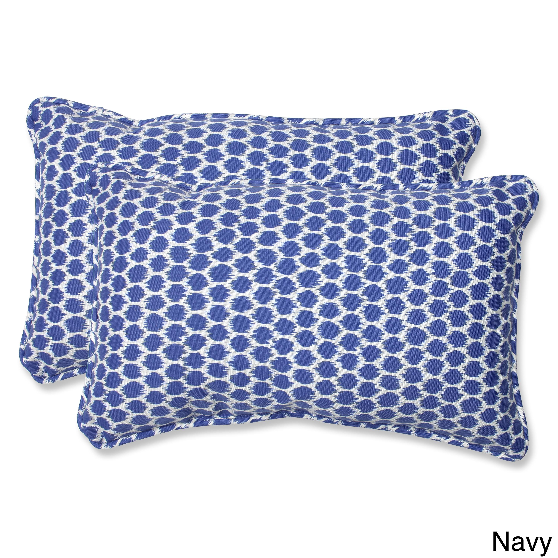 Pillow Perfect Seeing Spots Rectangular Outdoor Throw Pil...