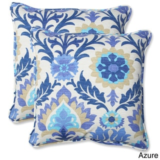 Pillow Perfect Santa Maria 18.5-inch Outdoor Throw Pillows (Set of 2)