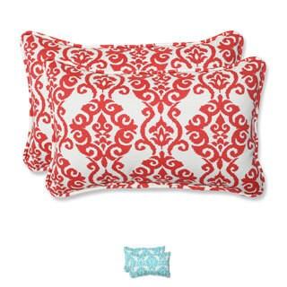 Pillow Perfect 'Luminary' Outdoor Rectangular Throw Pillows (Set of 2)