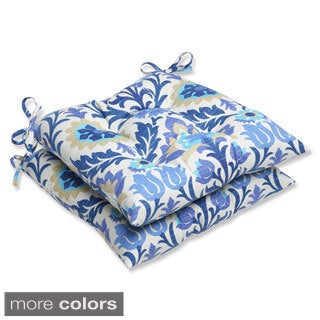 Pillow Perfect 'Santa Maria' Outdoor Wrought Iron Seat Cushions (Set of 2)