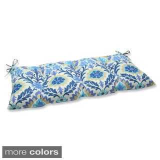 Pillow Perfect Outdoor/ Indoor Santa Maria Azure Swing/ Bench Cushion