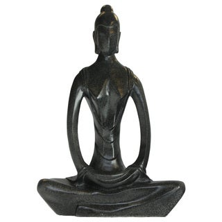 24-inch Abstract Yoga Woman Statue (Vietnam)
