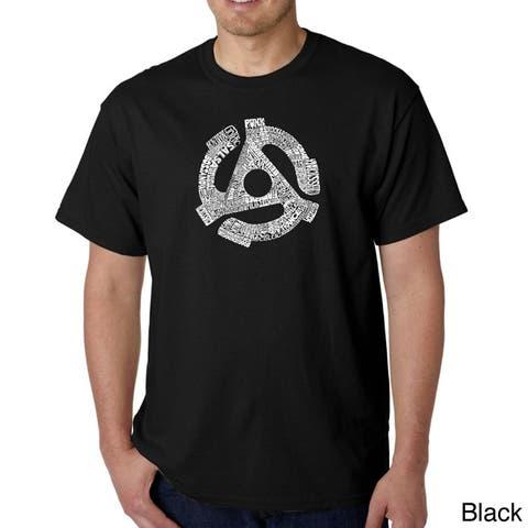 Los Angeles Pop Art Men's Record Adapter T-shirt