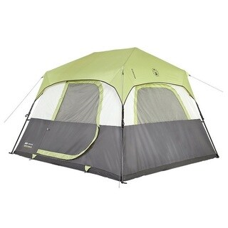 Coleman 6-person Instant Cabin Tent with Rain Fly