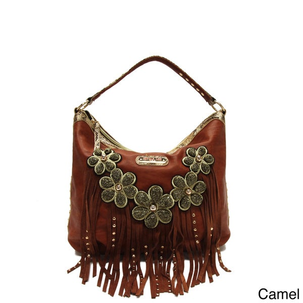 Nicole Lee X27 Sutton Flowers And Fringe