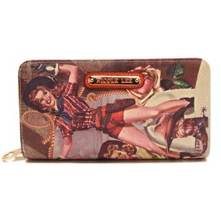 Nicole Lee 'American Cowgirl' Printed Wallet
