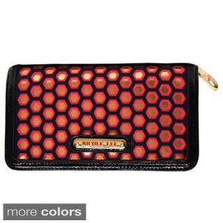 Nicole Lee 'Valeria' Embriodered Cut-out Wallet