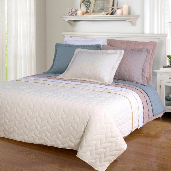 Superior Amy Reversible Braided Cotton Quilt Set - On Sale - Free ... : overstock quilt - Adamdwight.com