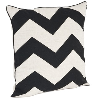 Chevron Design Down Filled Throw Pillow