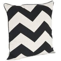 Chevron Design Down Filled Throw Pillow