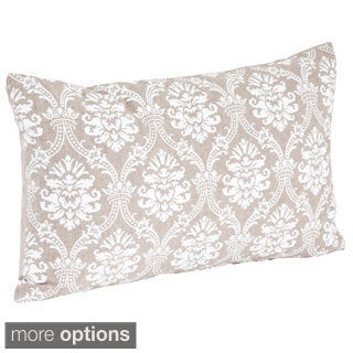 Baroque Design Down Filled Throw Pillow