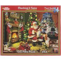 Checking It Twice - Santa Puzzle 1000 Pieces