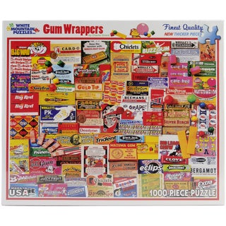 Gum Wrappers Puzzle 1000 Pieces