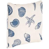 Nautical Design Down-filled Throw Pillow
