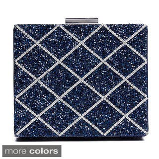 J. Furmani Glitter Beaded Square Hardcase Clutch|https://ak1.ostkcdn.com/images/products/8771482/J.-Furmani-Glitter-Beaded-Square-Hardcase-Clutch-P16012241.jpg?impolicy=medium