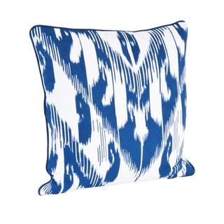 Ikat Design Down Filled Throw Pillow
