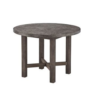 Concrete Chic Round Dining Table by Home Styles https://ak1.ostkcdn.com/images/products/8771591/Concrete-Chic-Round-Dining-Table-P16012355.jpg?impolicy=medium