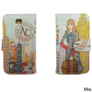Nicole Lee Muneca Print Collection Note Case