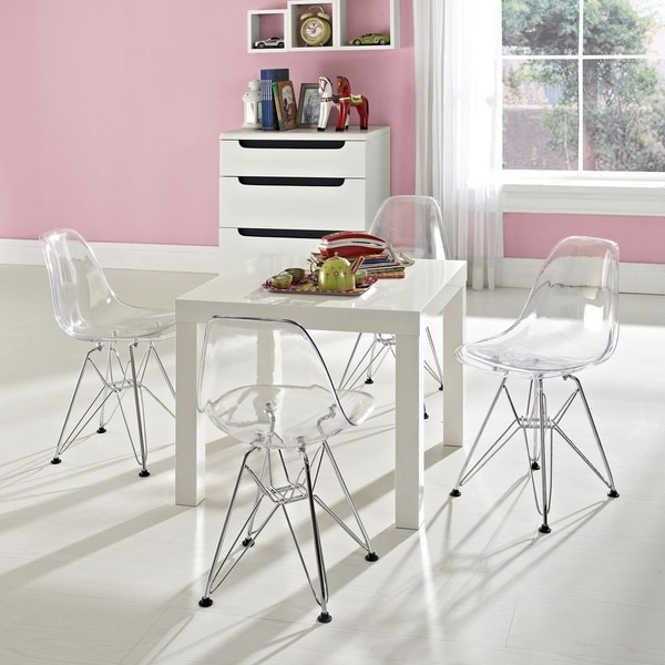 Shop Paris Kids Wire Side Chair Set Of 4 Overstock