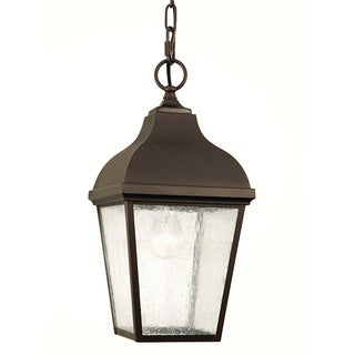 Feiss 1 - Light Pendant, Oil Rubbed Bronze