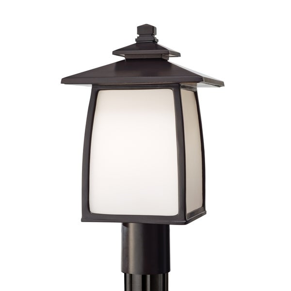 Feiss 1-Light Outdoor Lantern Wright House, Sorrel Brown. Opens flyout.