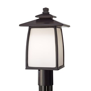Feiss 1-Light Outdoor Lantern Wright House, Sorrel Brown