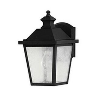 Feiss 1 - Light Wall Lantern, Black