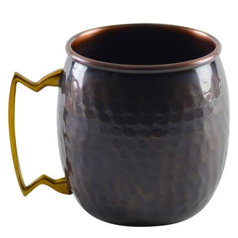 10 Strawberry Street Antique Copper Mug (Set of 2)