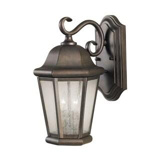 Feiss 2 - Light Wall Lantern, Corinthian Bronze
