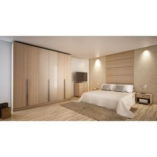 Manhattan Comfort 'Downtown' 6-door Wardrobe