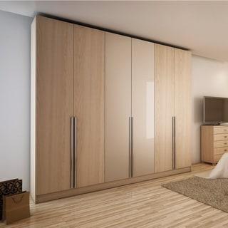 Link to 6-door Natural Wood Bedroom Wardrobe Similar Items in Bedroom Furniture
